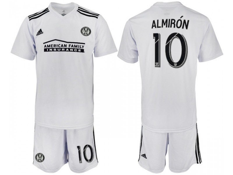 new concept e22ff 53c76 Atlanta United FC 2018/19 #10 ALMIRON White Training Replica ...