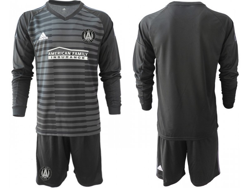 sports shoes b2c89 41b48 Atlanta United FC 2019/20 Black Long Sleeve Goalkeeper ...