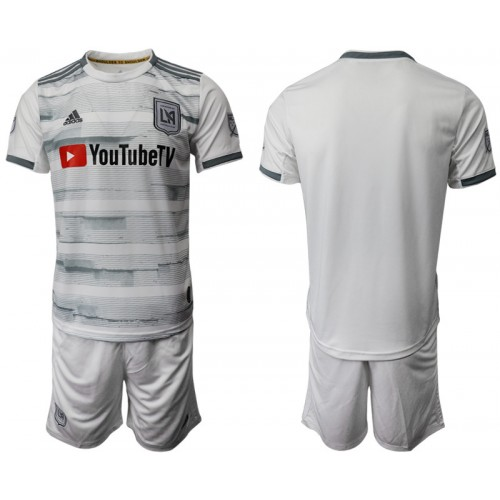 Los Angeles FC 2019/20 Away White Authentic Jersey