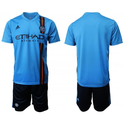 New York City 2019/20 Home Blue Authentic Jersey