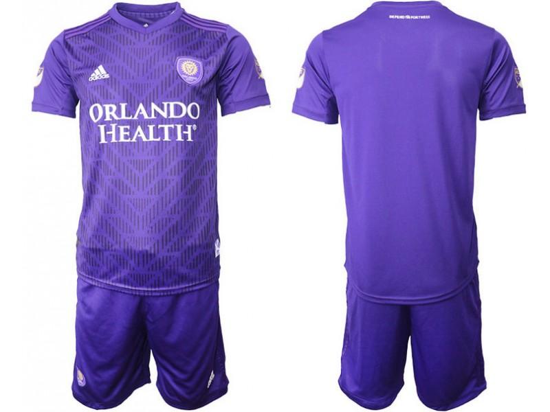 official photos a4eca 1cd19 Orlando City 2019/20 Home Purple Authentic Jersey