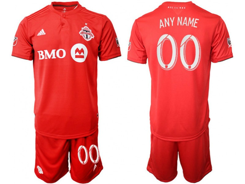 finest selection 56319 780a2 Toronto FC 2019/20 Customized Home Red Replica Jersey