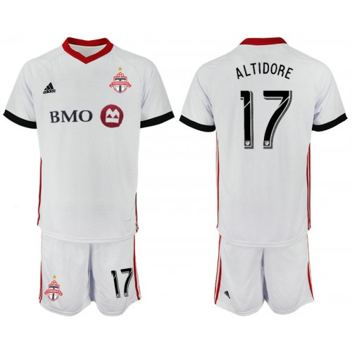 the latest 8dc41 236bc Toronto FC 2018/19 Away #17 ALTIDORE White Authentic Jersey