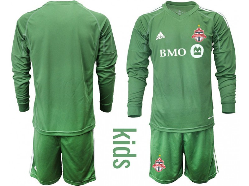 brand new 74e1e d08ae Youth Toronto FC 2018/19 Goalkeeper Army Green Long Sleeve ...