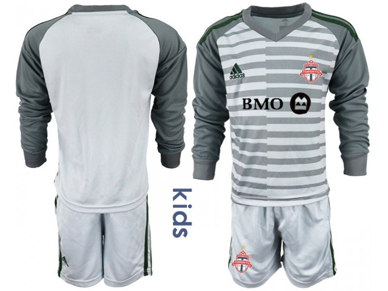 reputable site da598 cda02 Youth Toronto FC 2018/19 Goalkeeper Gray Long Sleeve ...