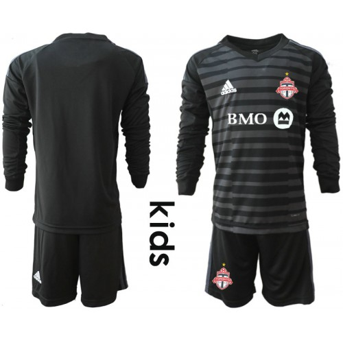 promo code d0418 94326 Youth Toronto FC 2018/19 Goalkeeper Black Long Sleeve ...