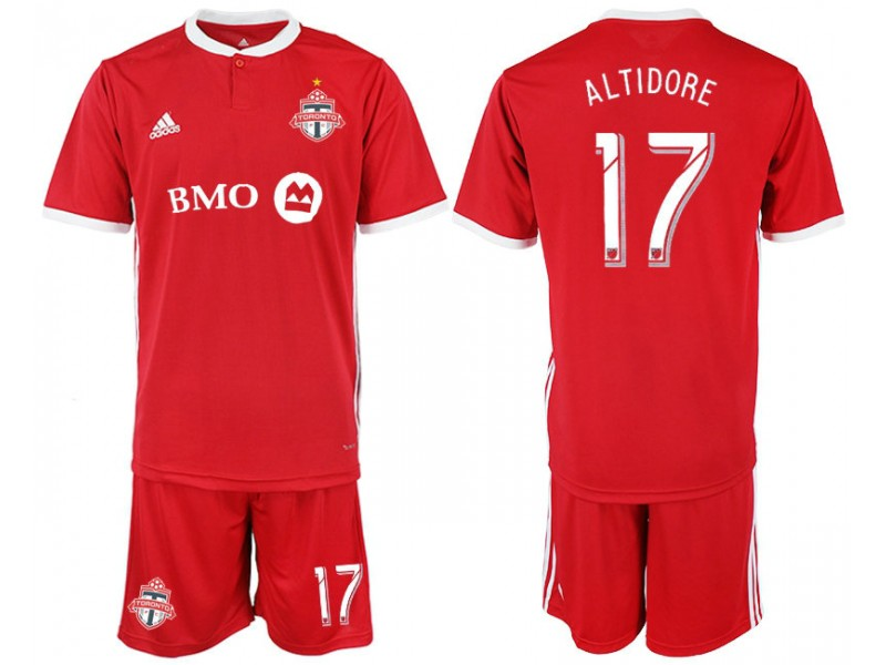 separation shoes cd1d1 a612d Toronto FC 2018/19 home #17 ALTIDORE Red home Replica Jersey