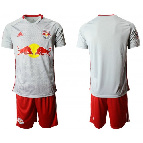 New York Red Bulls 2019/20 home Light Gray Authentic Jersey