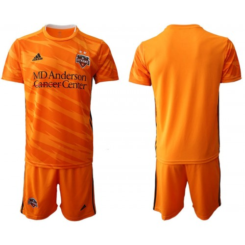 Houston Dynamo 2019/20 home Orange Authentic Jersey