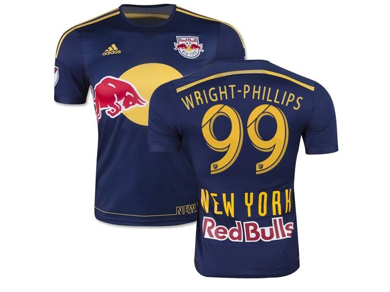 Bradley Wright-Phillips New York Red Bulls Soccer Jersey #99 Navy ...