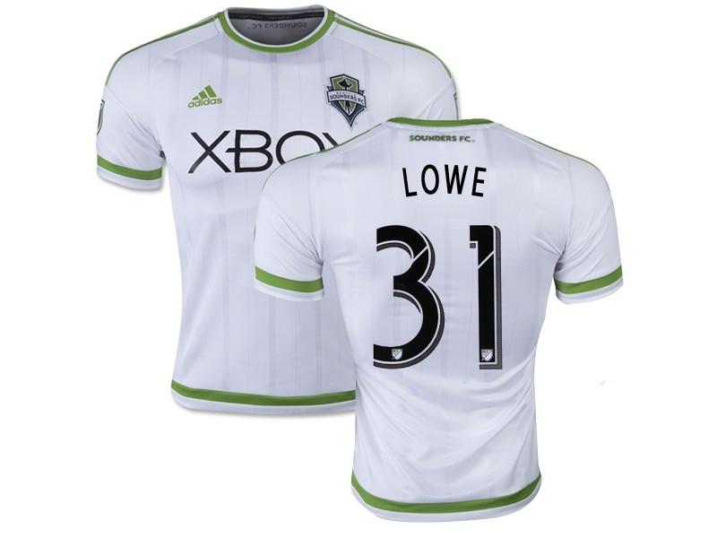 sale retailer 4602c 47200 Damion Lowe Seattle Sounders FC Soccer Jersey #31 White Away ...