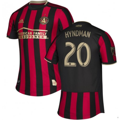 Atlanta United FC #20 Emerson Hyndman Red Stars and Stripes 2020/21 Home Authentic Jersey