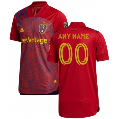 Youth Real Salt Lake Red 2020/21 Home Customized Replica Jersey