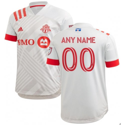 Youth Toronto FC White 2020/21 Customized Away Replica Jersey
